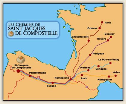 P lerins de compostelle - Office du tourisme saint jacques de compostelle ...